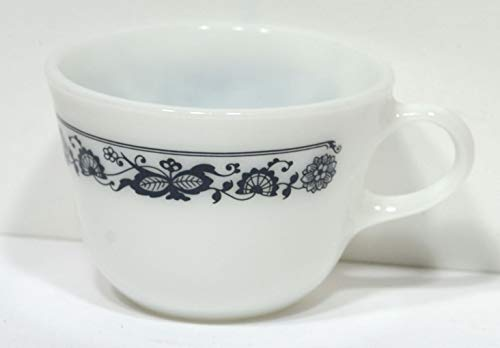 Vintage Pyrex Old Town Blue Onion Pattern Tea Coffee Cups Mug