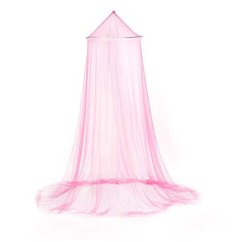 Outdoor Summer Round Lace Insect Bed Canopy Netting Curtain Polyester Mesh Fabric Home Textile Elegant Hung Dome Mosquito Net