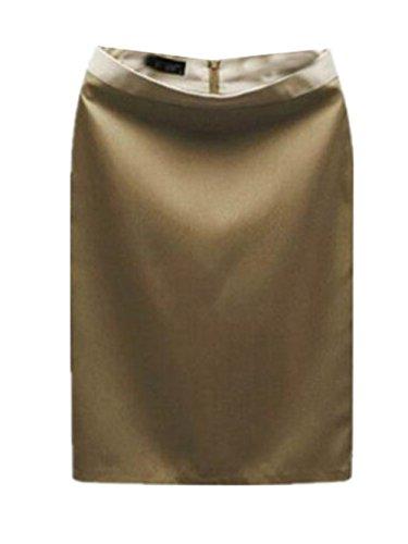 Court Jupe Jupe Jupe t Tendance Skirt Fit Haute ElGant Aoliait Femelle Femme Brown2 Jupe Commercial Slim en Jupe Taille p0CCxq