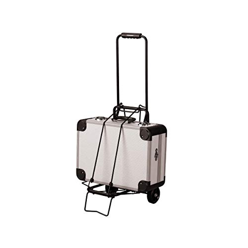 Brandobay Portable Folding Luggage Cart - Trolley Shopping Travel Compact Hand Carrier Bag - Folding Hand Truck