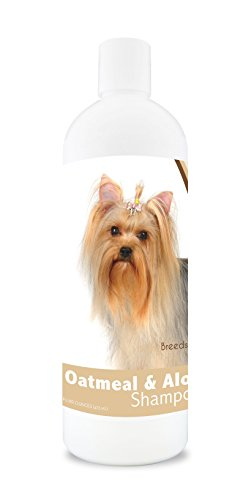Healthy Breeds Dog Oatmeal Shampoo with Aloe for Yorkshire Terrier - Over 75 Breeds – 16 oz - Mild and Gentle for Itchy,...