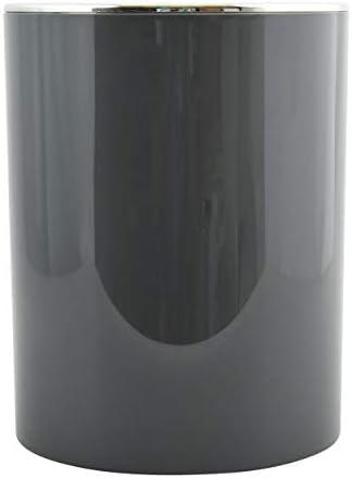 Color Gris MSV Cubo de Basura 6 litros /Ø18,5 x 26 cm colecci/ón KAMAKA ABS Pl/ástico