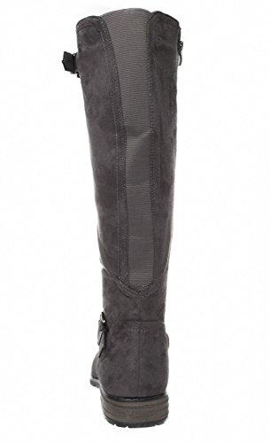 grandes Vanessa Gris Fitters pour FOOTWEAR BOTTES tailles Chaussures femme Hnq7fw