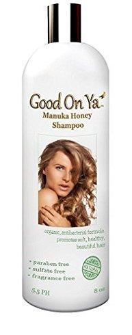 Профилактика выпадения волос Шампунь - сульфат бесплатно с Манука Мед - Karatin заблокируйте Премиум органический шампунь - растут волосы быстрее - Помогает стоп-лосс волос -использовать для кожи головы Псориаз и себорейный дерматит - Лучше, чем сухой шам