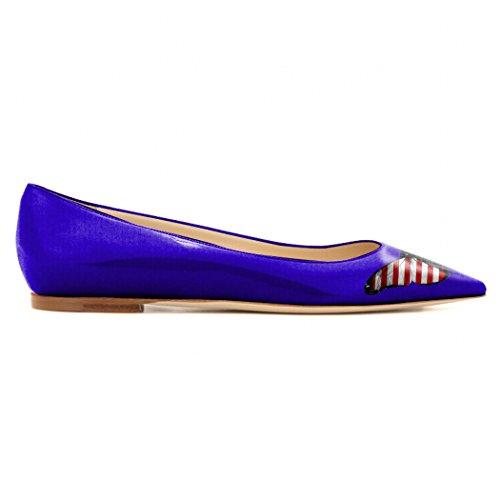 Mujer Mujer Bailarinas Azul Bailarinas MMGZ Azul MMGZ SZRpXq