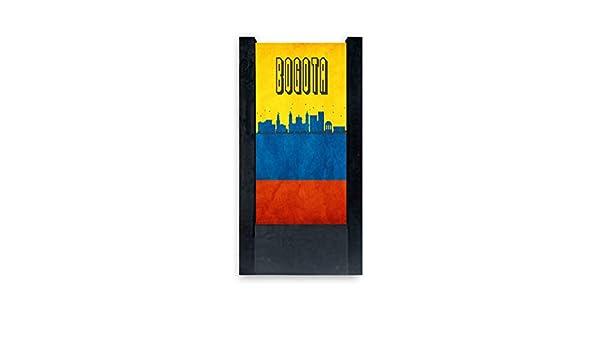 lámpara de mesa negra bandera Colombia Venta : Amazon.es ...