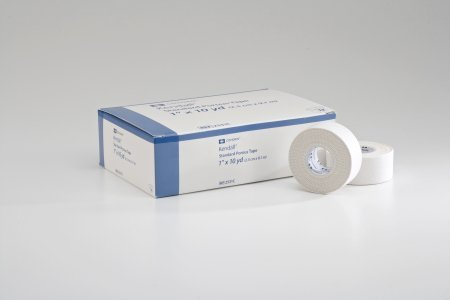 Covidien Medical Tape Porous Cloth White NonSterile - 1 Inch X 10 Yard - box of 12
