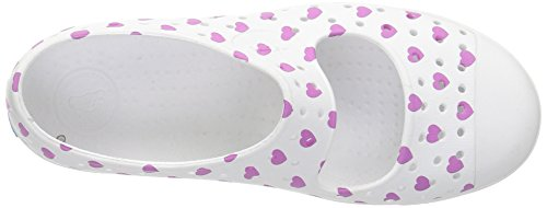 purple shell Water Junior Kids' heart white Shoe Juniper big peace Print Kids Native XvqwC0