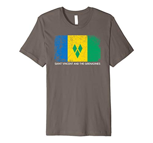 Flag Shirt Vintage Made In Saint Vincent and the Grenadines