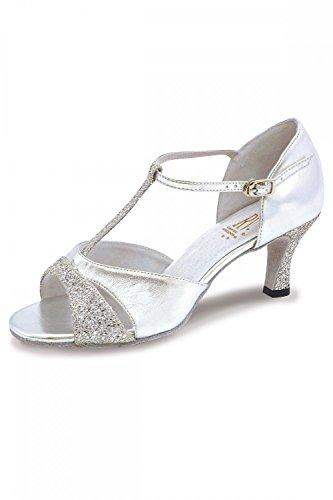 Roch Ladies Lucina Ballroom Shoe Silver Valley rwRxSqraE