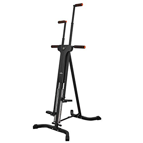 RELIFE REBUILD YOUR LIFE Vertical Climber for Home Gym Folding Exercise Cardio Workout Machine Stair Stepper