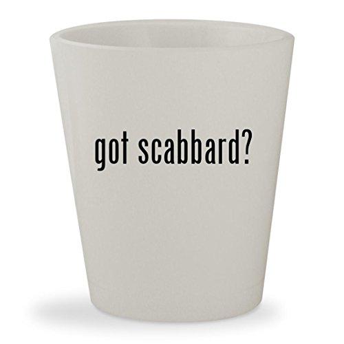 Glamdring Scabbard (got scabbard? - White Ceramic 1.5oz Shot Glass)