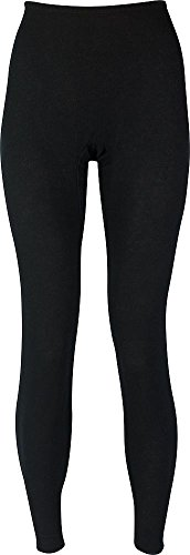Hydropur Thermal - Indera - Womens Long Sleeve HydroPur Thermal Pant 4500DR, Black 34202-Large