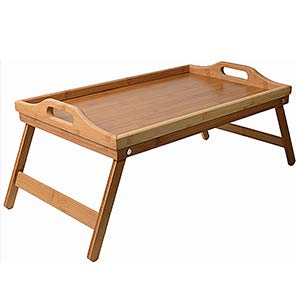 Meridian Point Home Folding Bamboo Tray/Table ()