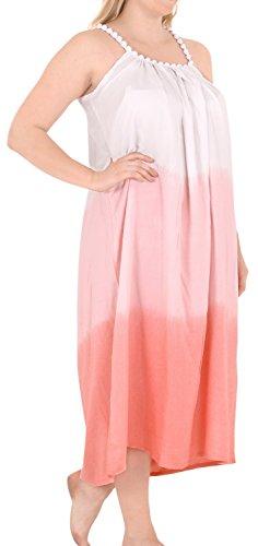 La Leela chaise longue beachwear sundress femmes, plus bikini taille couverture ups robes rouges