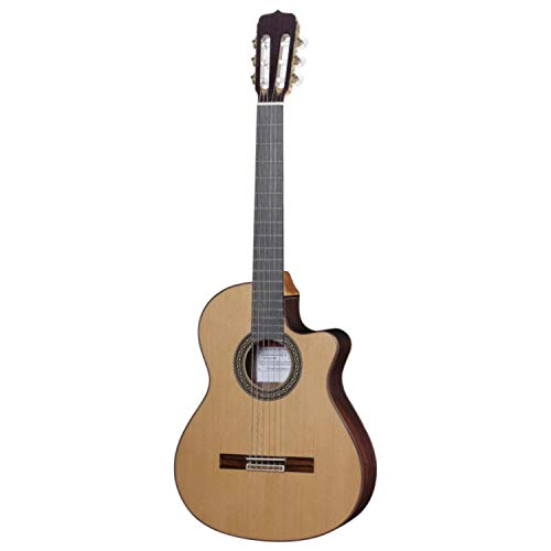 Jose Ramirez Cut 1 Classical Guitar Red Cedar Cutaway Top Indian Rosewood Back a
