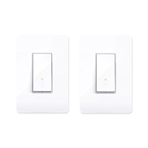 TP-Link Smart HS200 WiFi Light Switch Cover Compatible w/ Phone Control (2 Pack)