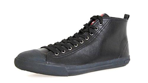 Prada Herren 4t2583Leder Turnschuhe/Sneaker