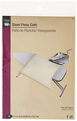 [해외]Dritz Sheer Press Cloth / Dritz 594 Sheer Press Cloth, 22 x 30-Inch