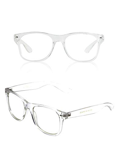 Eyewear Clear Frames Glasses Chic Female Shades Costume Nerd Hipster Costumes 2]()
