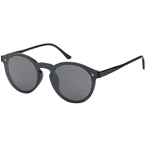 6b3812fece5 Amazon.com  Robin Ruth OMARE Frameless Designer Sunglasses-Black ...