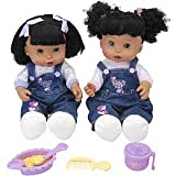 : Too Cute Twins Doll You & Me Interactive African American