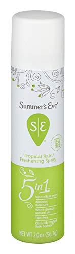 Summer's Eve Feminine tropical Rain Deodorant Spray, 2-Ounce