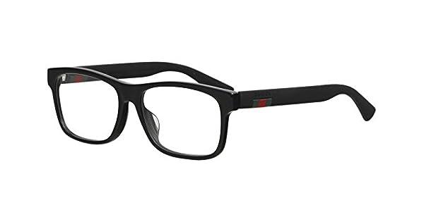 Amazon.com: Gucci GG0176OA - Gafas rectangulares (plástico ...