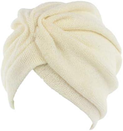 TININNA Pañuelos Oncologicos para Mujer,Musulmán Turbante Elástico Sombrero Plisado Bambú para Quimio Gorros Color Sólido para Cáncer: Amazon.es: Hogar