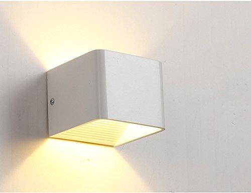 Buone bestiame led 3 w lampada da parete applique da parete aluminum