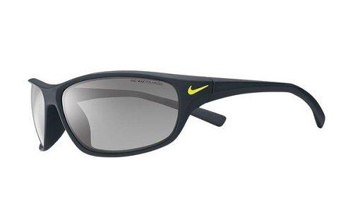 Nike Rabid Sunglasses, Matte Black, Grey with Silver Flash - Vision Nike Sunglasses