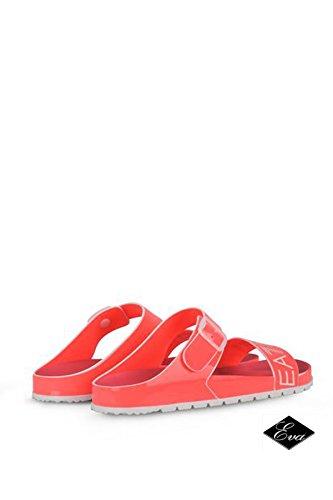 Emporio Armani EA7 sandalias mujer nuevo gym lux rosa