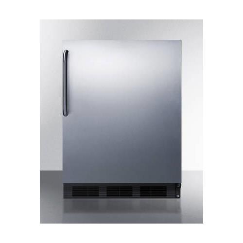 Summit FF6B7CSSADA Refrigerator, Stainless Steel by Summit (Image #1)