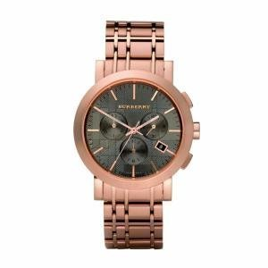 Burberry BU1862 Men's Chronograph Rose Gold Watch