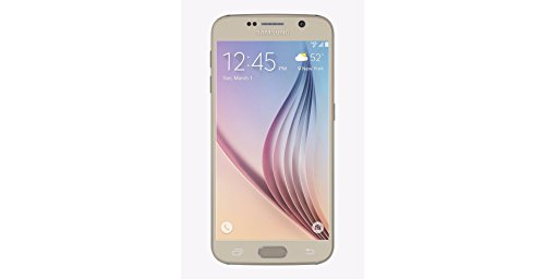 Samsung Galaxy S6 (SM-G920V) – 64GB Verizon + GSM Smartphone – Gold Platinum (Certified Refurbished)