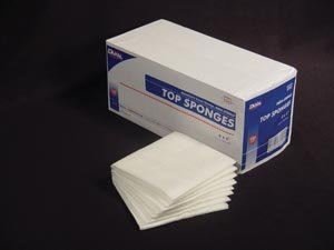 Dukal Top Sponges - Non-Sterile Latex Free, 4 x 4 - Model 5340 - Bag of 100 by Dukal