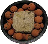 Cheap 3 Inch Net Pot and Grodan A-Ok 1.5 Inch Starter Plug (6 Pack), plus Clay Pebbles Combo