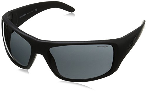 Arnette La Pistola Wrap Sunglasses, FUZZY BLACK, 66 mm