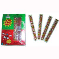 Sour Power Belts - Watermelon, Wrapped, 150 count display box