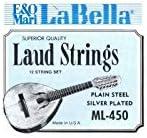 La Bella 7D78 - Pack con 6 pares de cuerdas afinadas