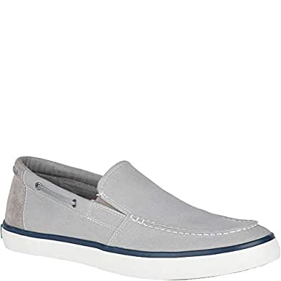 Sperry Top-Sider Mainsail Slip On Sneaker Men's Grey Size: 8