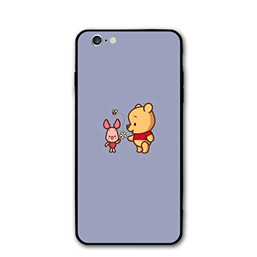 (SWDFFG iPhone 6 iPhone 6S Case- Stylish Winnie The Pooh and Piglet PC Slim Shockproof Flexible Back Protective Case for iPhone 6/6S)