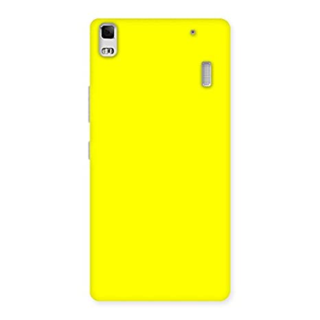 san francisco 2c9d9 93cc6 Ordinary Yellow Back Case Cover for Lenovo K3 Note: Amazon.in ...