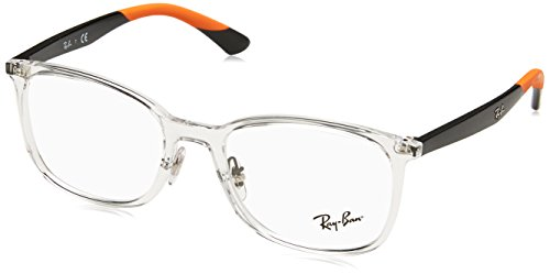 f098b4551f9 Ray-Ban rx7142 5759 50 au verres transparents RX7142 5759 50 Clear  Transparent