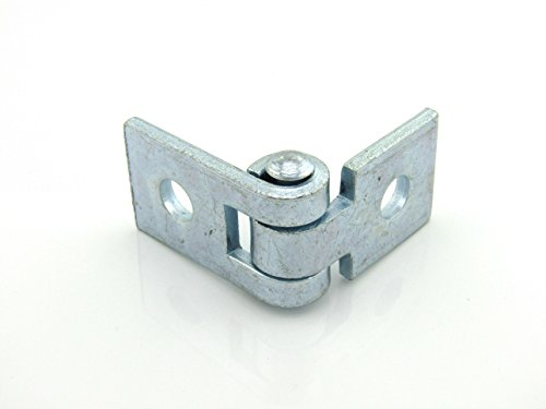 2-Hole Adjustable Hinge Connection; E.G. (50 per box) by ARWS