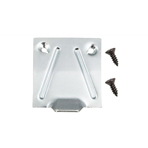 Eckler's Premier Quality Products 33179171 Camaro Glove Box Lock Catch Plate With Screws