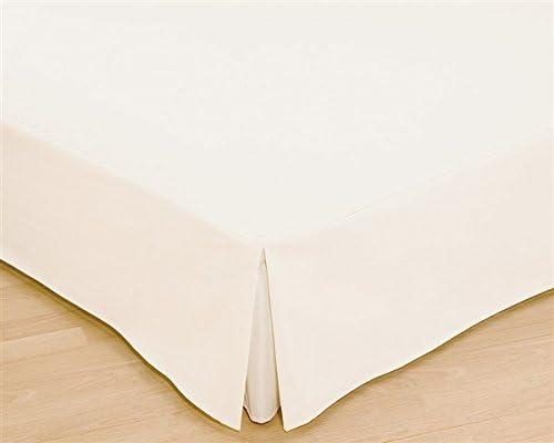 Colcha, colchón para cama, disponible en diferentes tamaños en color cáscara de huevo, tela, crudo, Bett 90 cm