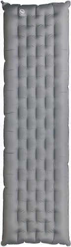 Big Agnes Insulated Q-Core Sleeping Pad – Silver/ Gray Petite, Outdoor Stuffs