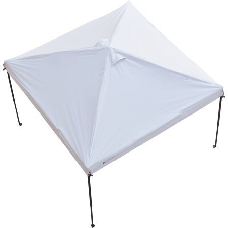 Ozark Trail 10' x 10' Gazebo Top for Tailgating or Sports Events, White