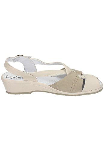 beige Comfortabel 710122 Beige Beige Sandali Donna Y7YUg